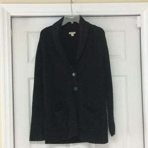 Merona Medium Black sweater. Stretchy and warm!